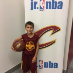 My Son at Cavs Jr Accadamy